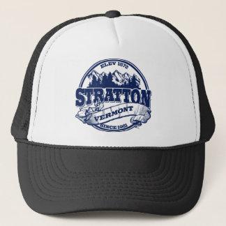 Strattonの古い円の青 キャップ