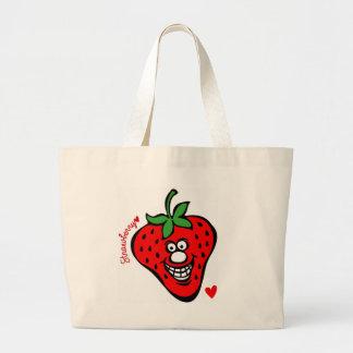 Strawberry *Jumbo Tote ラージトートバッグ