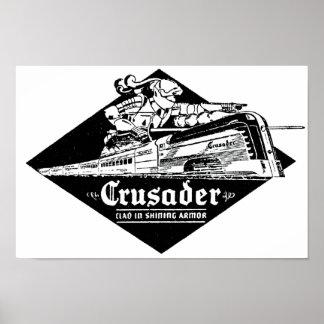 Streamliner読書鉄道クルセーダー ポスター