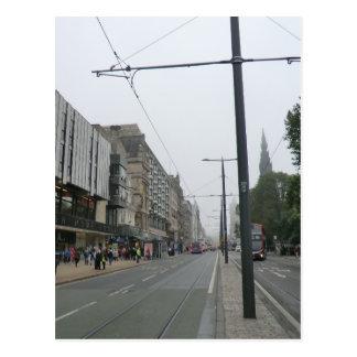Street、エジンバラ王子 ポストカード