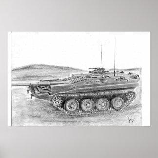 Stridsvagn 103タンク ポスター