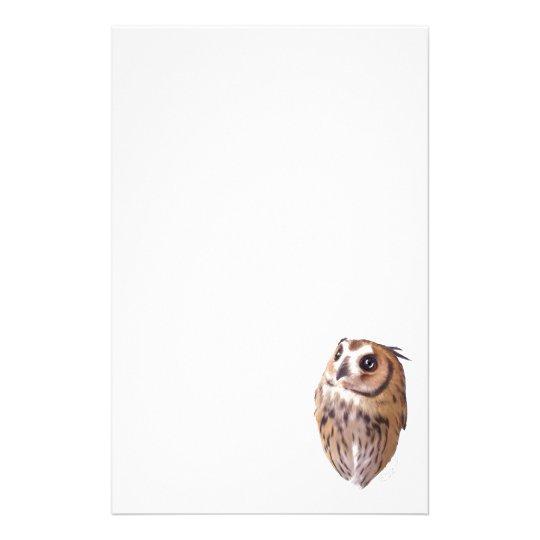 Striped owl 便箋