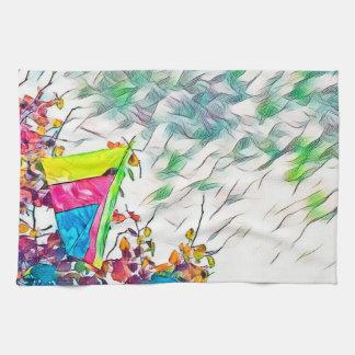Stromyのハンググライダー凧 キッチンタオル