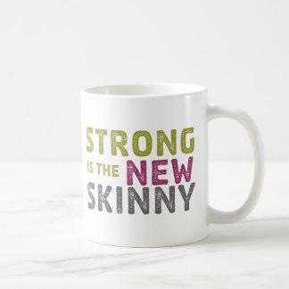 Strongeは新しい細いです-スケッチ コーヒーマグカップ