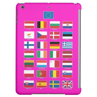 StrongerInの(残して下さい) iPad; EU 28の国家の旗 iPad Airケース
