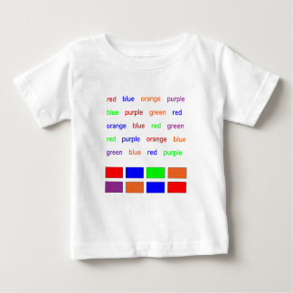Stroopテスト ベビーTシャツ