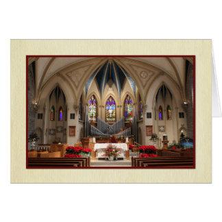 Sts. ピーターおよびポールの美しい聖域のクリスマス カード