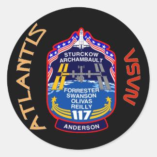 STS 117アトランティス ラウンドシール