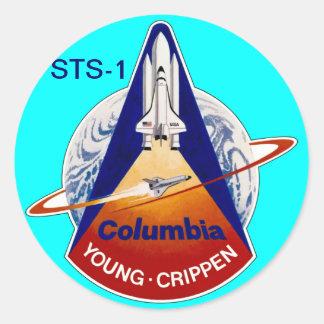 STS-2 NASAのスペースシャトル ラウンドシール