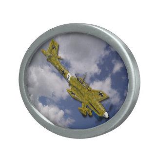 Stukaのベルトの留め金 卵形バックル