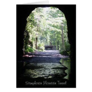 Stumphouse山のトンネル カード