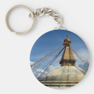 Stupa Boudhaを歩き回ること キーホルダー