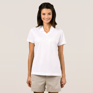 Style: Women's Nike Dri-FIT Pique Polo Shirt Look ポロシャツ
