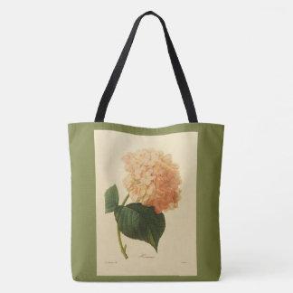 Stylish-Vintage-Botanical-Art_Peach-Grass-Green トートバッグ