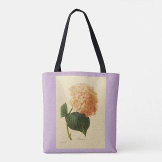 Stylish-Vintage-Botanical-Art_Peach-Lavender トートバッグ