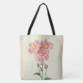 Stylish-Vintage_PINKの演壇--Botanical-Art_M-L トートバッグ