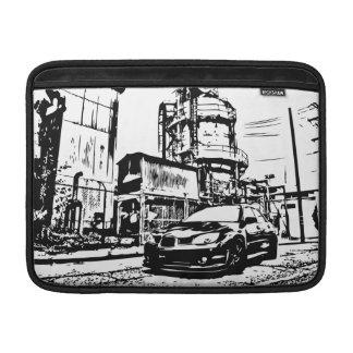 "Subaru STI WRX ""通り""のMacbookのプロ袖 MacBook スリーブ"