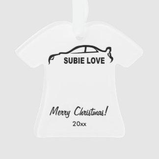 Subaru WRX Impreza STI - Subbie愛 オーナメント