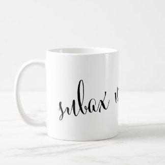 subaxのwanaのおはようのソマリア人のマグ コーヒーマグカップ