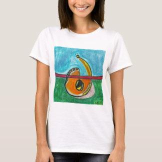 SubQuantumのアルファベット: KUNDALINIの女性のTシャツ Tシャツ
