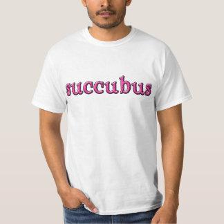 SUCCUBUSのSuccubusのハロウィンのティー Tシャツ