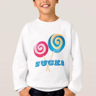 sucker_blue スウェットシャツ