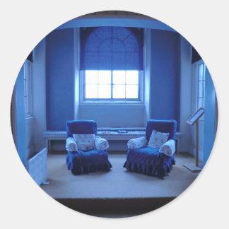 Sudburyホールのアデレード女王の青い部屋 ラウンドシール