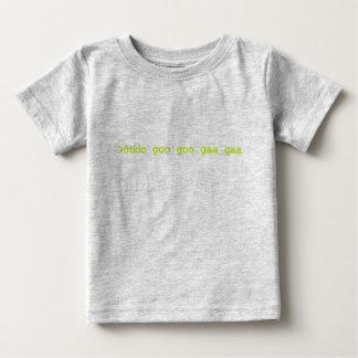 Sudoのべたつく物のべたつく物のgaaのgaaのベビーのワイシャツ ベビーTシャツ