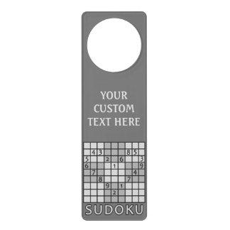 SUDOKUのカスタムなドア・ハンガー ドアノブプレート