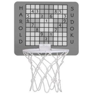 SUDOKUのカスタムな小型たが ミニバスケットボールゴール