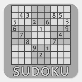 SUDOKUのステッカー スクエアシール