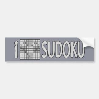 SUDOKUのバンパーステッカー バンパーステッカー