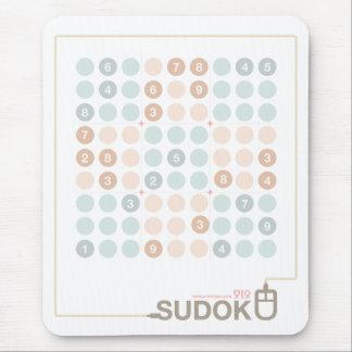 Sudokuのパステル マウスパッド