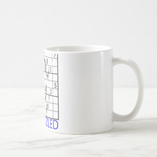 Sudokuのパズル コーヒーマグカップ