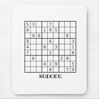SUDOKUのマウスのマット マウスパッド