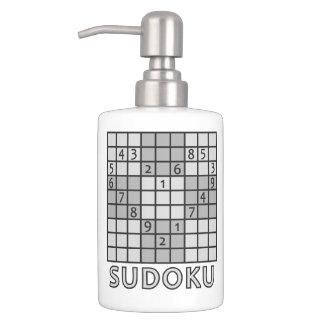SUDOKUの浴室セット バスセット