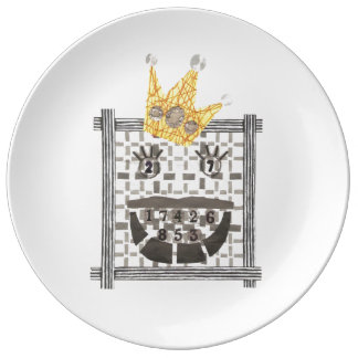 Sudoku王の磁器皿 磁器プレート