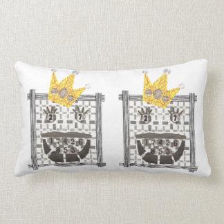 Sudoku Lumbar Pillow王 ランバークッション