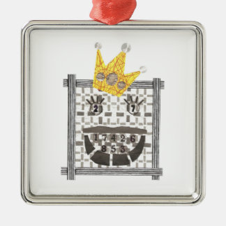 Sudoku Premium Ornament王 メタルオーナメント
