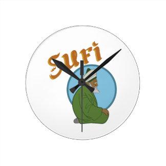 Sufi ラウンド壁時計