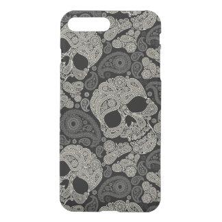 Sugar Skull Crossbones Pattern iPhone 7 Plus Case iPhone 8 Plus/7 Plus ケース