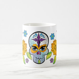sugar skull mug コーヒーマグカップ