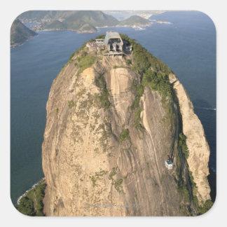 Sugarloaf山、リオデジャネイロ、ブラジル スクエアシール