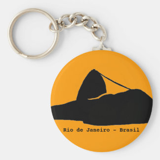 sugarloaf山。 リオ。 ブラジル キーホルダー