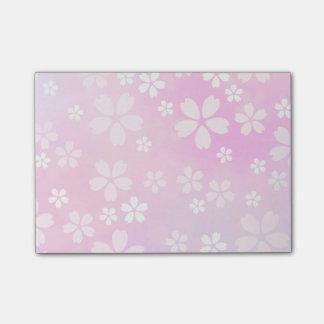 sugarparadeの桜の開花のポスト・イットの粘着性があるメモ帳 ポストイット