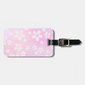 sugarparadeの桜の開花の荷物のラベル ラゲッジタグ