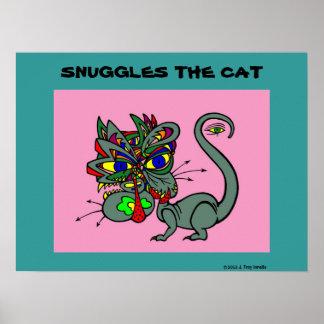 Suggles猫ポスター ポスター