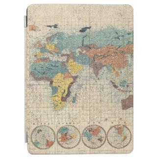 Suidoの管によってPro1853日本のな世界地図をカスタマイズ iPad Air カバー