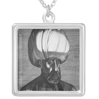 Suleiman壮麗の シルバープレートネックレス