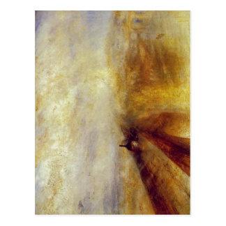 Sumario J.M.W.ターナー-雨、蒸気および速度- ポストカード